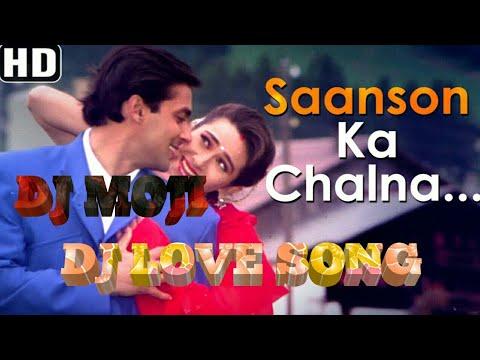 Saanso Ka Chalna Hard Bass Dj Mix-Dj Mojibur Production-DjMojiRemix