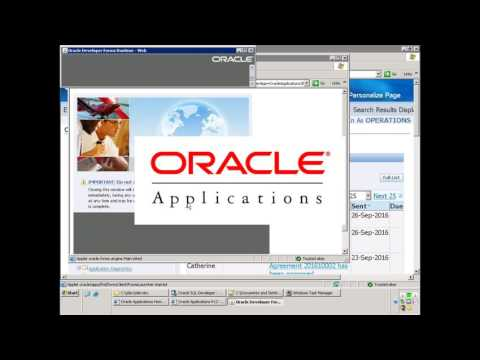 Oracle E-Business Suite - AR Cash Receipt Creation- Public A