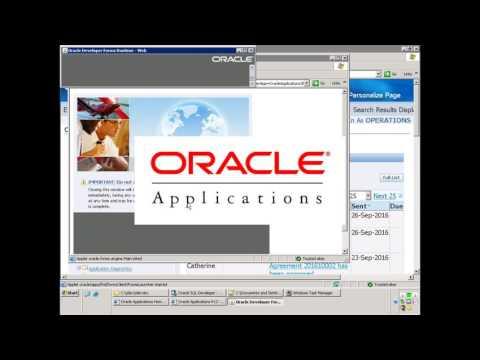 Oracle E-Business Suite - AR Cash Receipt Creation- Public API