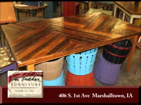 Marshalltown Iowa's Ron Fisher Furniture On Our Story's The Celebrities