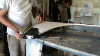 1960 to 1966 front fender rust repair part 2