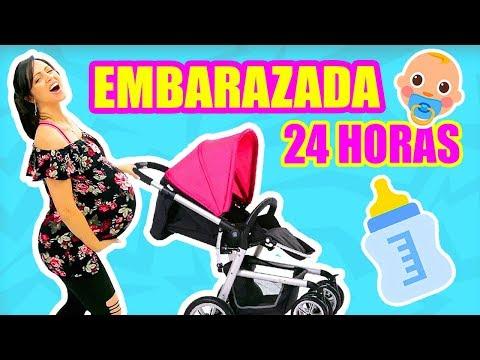24 HORAS SIENDO MAMÁ EMBARAZADA! ALABAO! RETO EMBARAZADA POR 1 DÍA ENTERO! SandraCiresArt