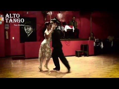 """Paulina Mejía y Juan Vargas- Tango Colombia- Milonga la más pulenta"""""""