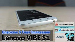 Unboxing & First Impression - Lenovo Vibe S1 - Indonesia [GontaGantiHape.com]