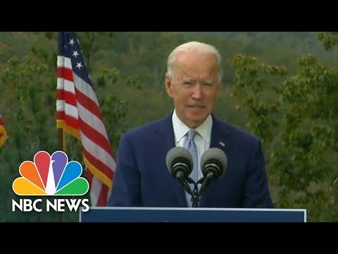 Biden Delivers Message