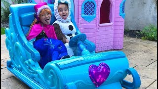 The Twins ride a Sleigh Ride in Compilation Series