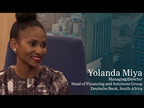 Yolanda Miya, Deutsche Bank SA, on how failure is a step toward success