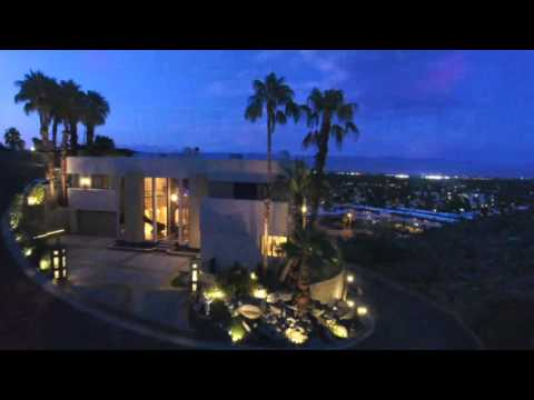 Palm Springs Hill Top Custom Entertainer's Estate