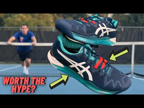 I typically steer my patients away from Asics but I playtested the Gel Resolution 8's to compare against some others and was blown away, just shows how powerful bias against shoes can be w tennis players
