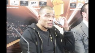 CHRIS EUBANK JR IMMEDIATE REACTION TO HIS DEFEAT TO GEORGE GROVES / GROVES v EUBANK JR