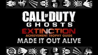 EXTINCTION: Point of Contact | Made It Out Alive Achievement / Trophy Guide [HD]
