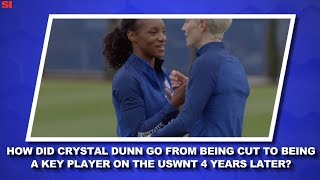 USWNT's Crystal Dunn Turned Challenges Into Successes | Women's World Cup Daily | Sports Illustrated