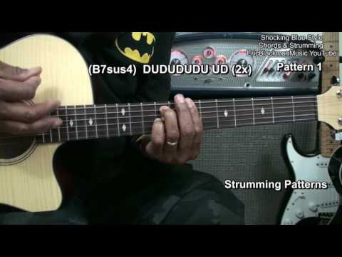 VENUS Shocking Blue Guitar Chords Strumming & Riffs Lesson EricBlackmonGuitar