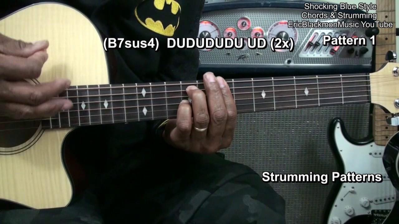 Venus Shocking Blue Guitar Chords Strumming Riffs Lesson