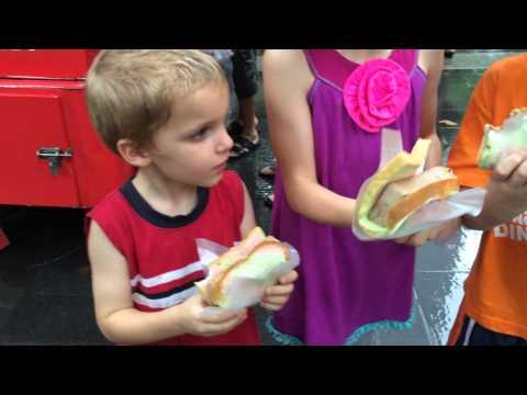 Singapore Ice Cream Sandwiches