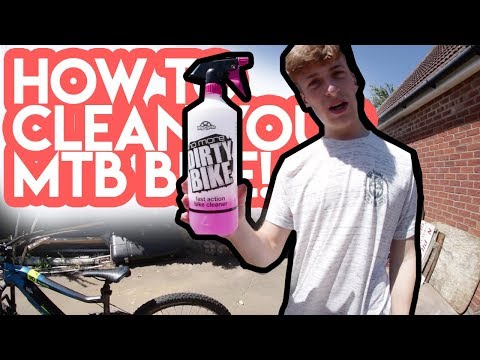 HOW TO CLEAN YOUR MTB BIKE! (Jump Bike & Full Sus!)