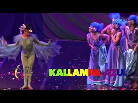 Obra de Ballet Kallampa Azul, dedicada a los Niños
