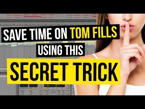 Save Time on Tom Fills using this Secret Trick!