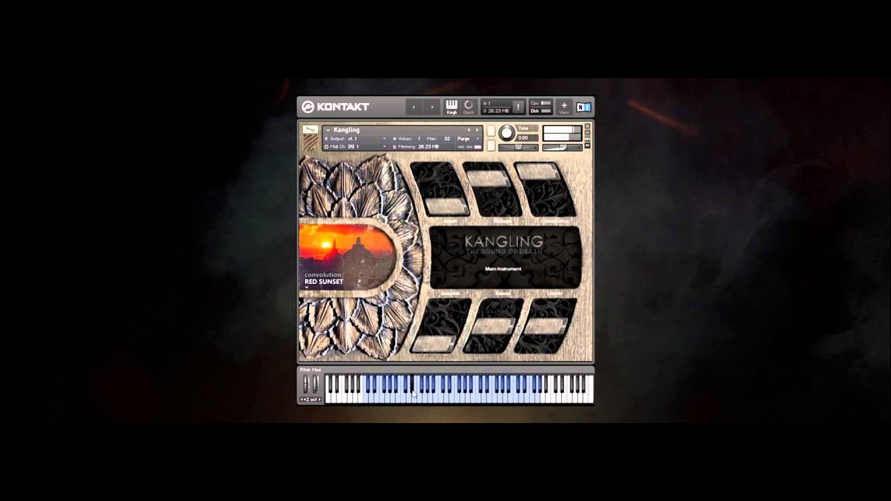 KVR: Kangling - The Sound of Death by Strix Instruments, LLC