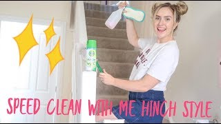 speed clean with me mrs hinch style tips and tricks power hour cleaning hacks