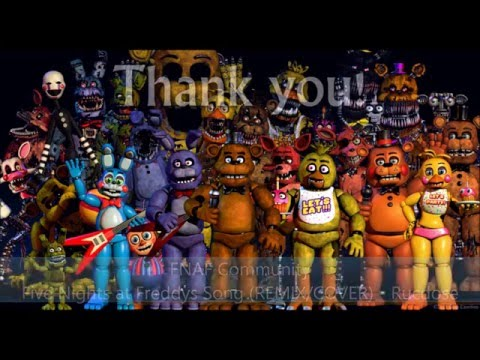All fnaf character theme songs 1 4 dlc v2 read description