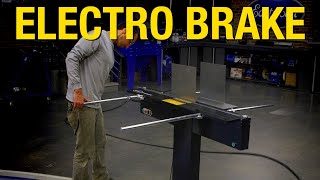 Everything You Need to Know About the Electro-Brake Sheet Metal Brake - Eastwood!