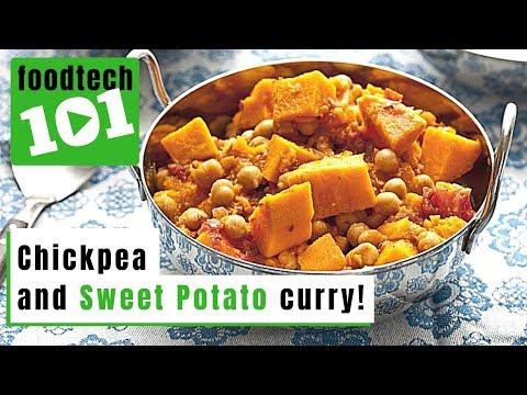Chickpea & Sweet Potato Curry: FoodTech101