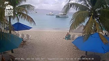 Soggy Dollar Bar Live Webcam - Jost Van Dyke, British Virgin Islands