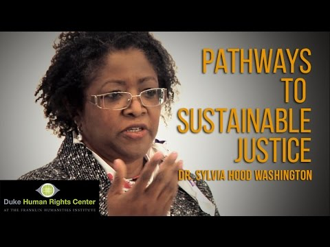 Resilient Resources: Pathways to Sustainable Justice