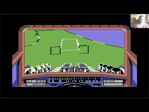 Lukozer Retro Game Review 362 - Stunt Car Racer - Commodore 64