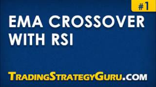 EMA Crossover with RSI - Trading Strategy