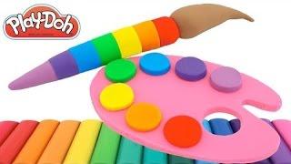 Imparare i colori con pongo,pongo creazioni, plastilina creazioni, play doh italiano, play doh