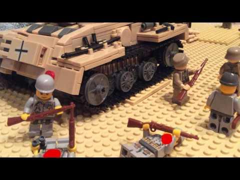 Lego First Battle of El Alamein