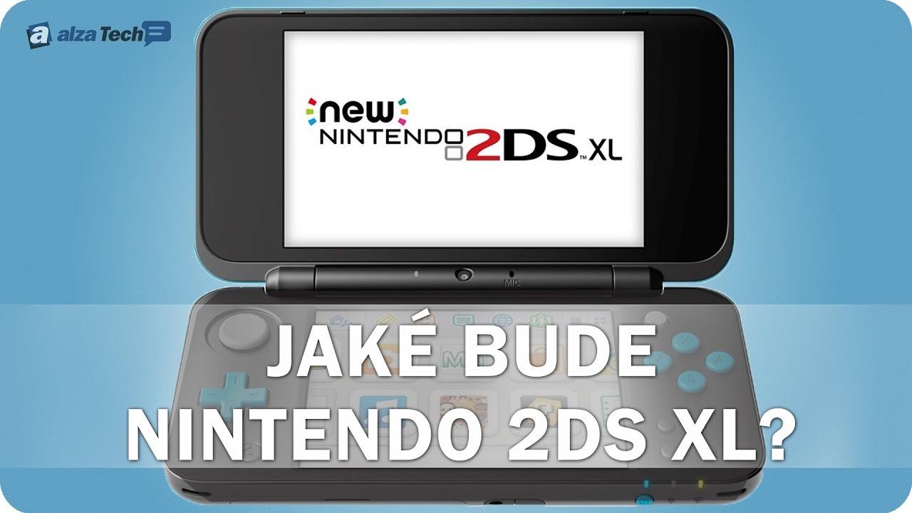 15e448cae Jaké bude Nintendo 2DS XL? - AlzaTech #537 - YouTube