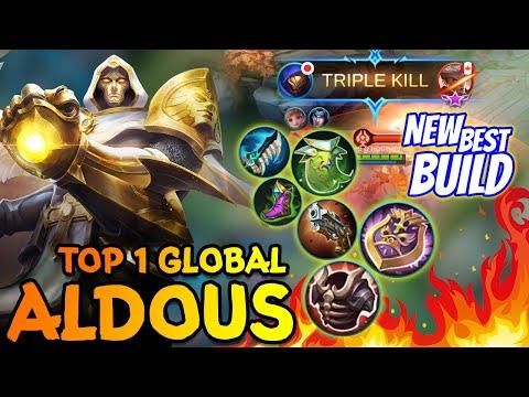 Aldous Stronger | New Best Build Aldous | Top 1 Global Aldous ~ MLBB