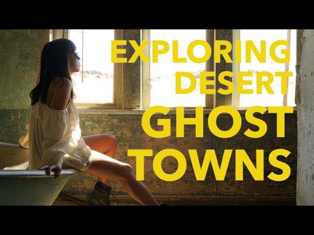 EXPLORING CREEPY DESERT GHOST TOWNS | KOLMANSKOP | Namibia 4x4 Roadtrip