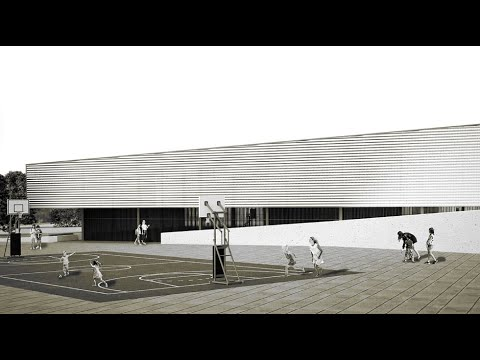 VÍDEO: La original y práctica cubierta de la pista deportiva del Colegio Antonio Machado. Mas en el vídeo