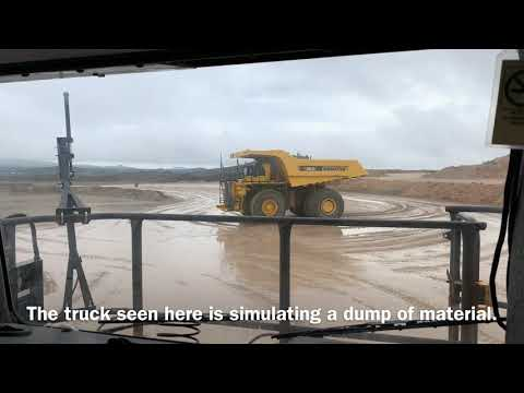 A Ride In An Autonomous Komatsu Mine Truck