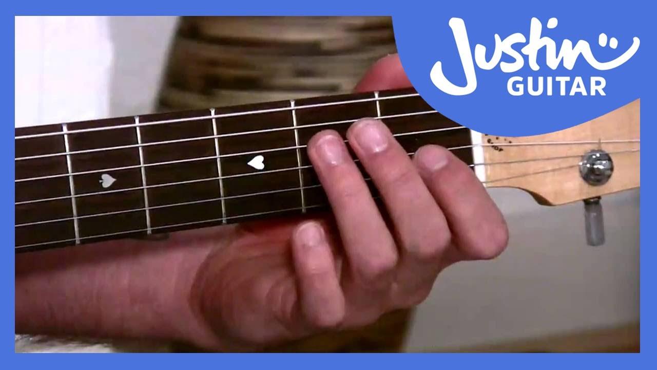 The Emin Chord Justinguitar