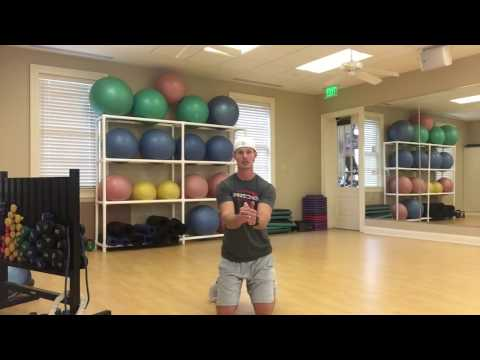 Golf workouts using resistance bands for better golf game