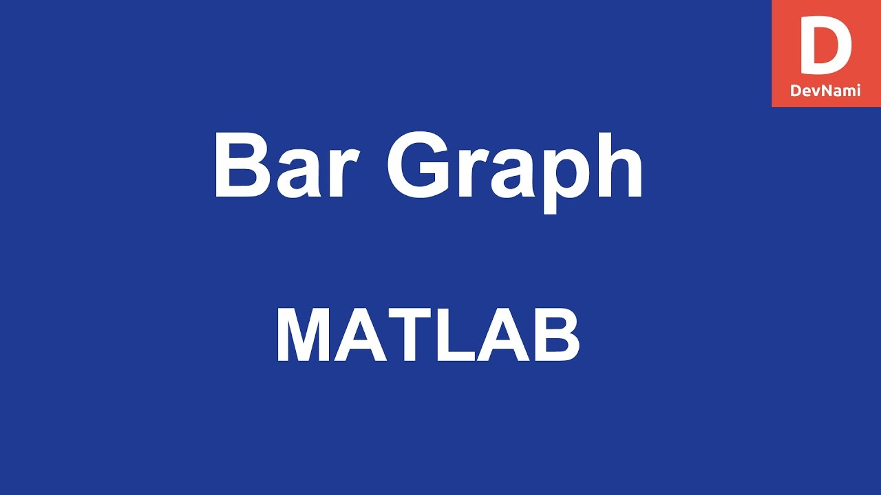 MATLAB Bar Plot