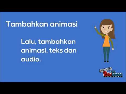 Prosedur Membuat Video Animasi Powtoon