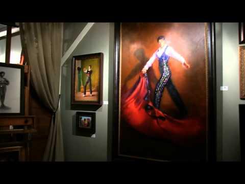 Santaella Studio for the Arts open house 2015