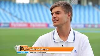 Aiden Markram - The ICC U19 Cricket World Cup 2014 winning captain...