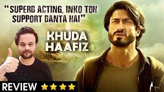 Khuda Haafiz MOVIE REVIEW ⭐⭐⭐⭐ Vidyut Jammwal, Sheevalika Oberoi & Shiv PANDIT | Nepotism