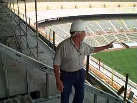 A tour of the newly renovated sections at Neyland Stadium