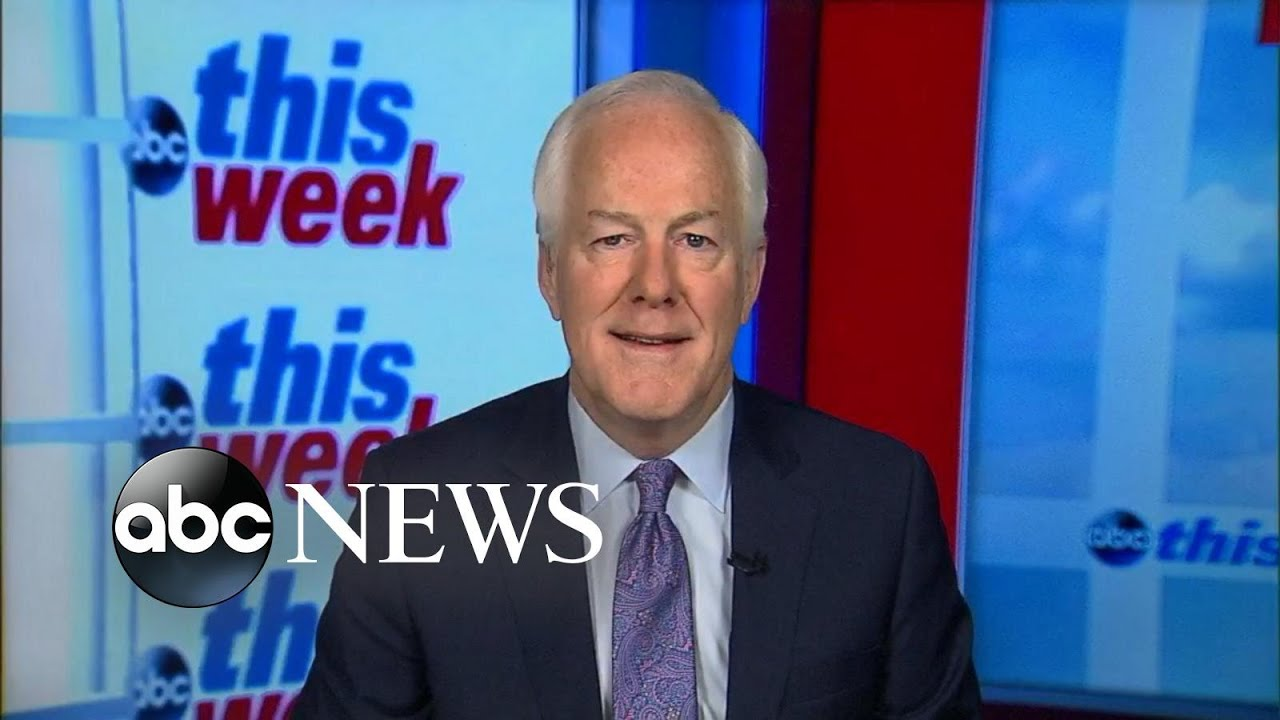 Senate Majority Whip John Cornyn 'confident' tax bill will pass this week