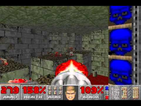 Ultimate Doom (100%) Walkthrough (E4M5: They Will Repent) |