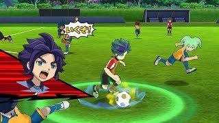 Inazuma Eleven Go Strikers 2013 Resistance Japan Vs Chrono Storm Wii 1080p (Dolphin/Gameplay)