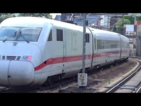 Deutsche Bahn Trains in Berlin Germany 2017